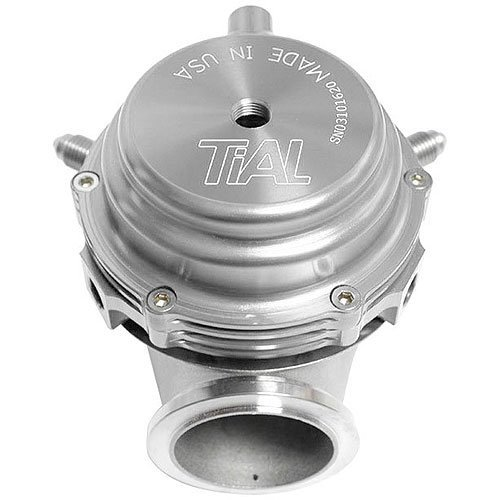 TiAL MV-S 38mm Wastegate Silver With V-Band and Flanges All ()