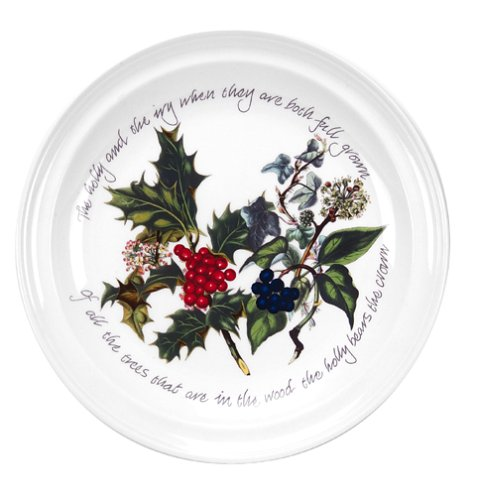 Portmeirion Holly and Ivy Dinner Plates, Set of 6 ()