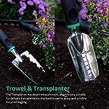 GIGALUMI Garden Tools Set -11 Piece Heavy Duty