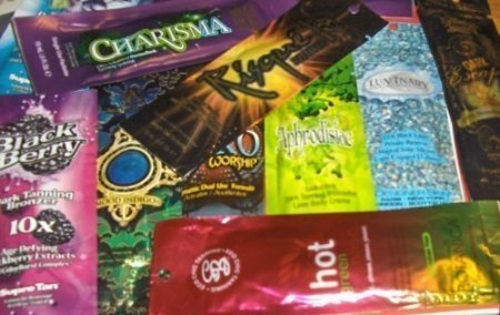 10 NEW Assorted Indoor Tanning Bed Lotion Packets From Austr