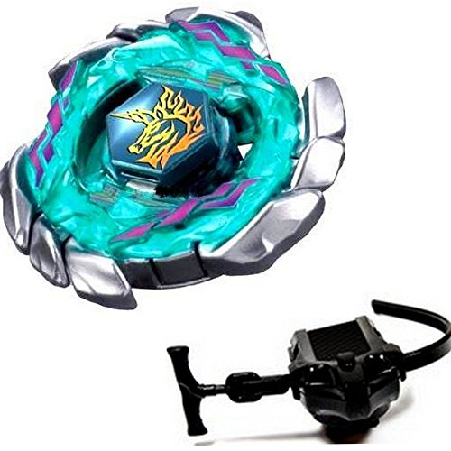 Blitz Unicorno Fusion 4D Beyblade Metal Fight Master BB-117 + Launcher Grip Set by Unknown