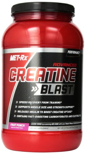 MET-Rx Advanced Creatine Blast Fruit Punch, 1,440 grams