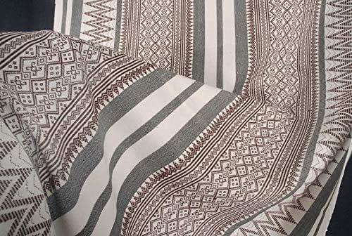 FREE SHIPPING Ethnic Folk Tribal Textile Art Asia NAGA Tribal Fabric Handwoven Cotton Sheet