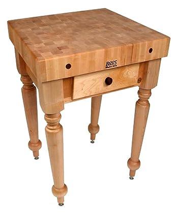 Fantastic Amazon Com John Boos American Heritage Rustica Kitchen Creativecarmelina Interior Chair Design Creativecarmelinacom