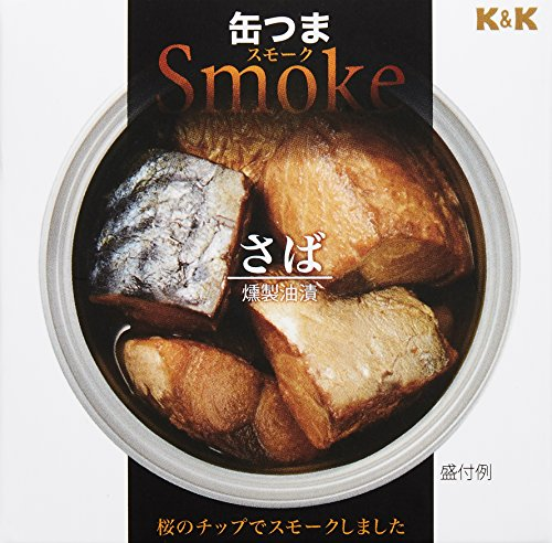 (K & K Smoked mackerel 50g x 6)