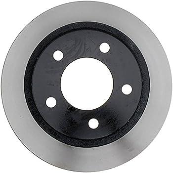 ACDelco 18A2325A Advantage Non-Coated Front Disc Brake Rotor