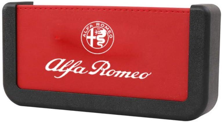 f/ür Alfa/·Romeo 159 147 156 166 Giulietta Stelvio GT 4C 8C Giulia Mito Brera Zubeh/ör Auto Ledersitz Spalt Aufbewahrungsbox Getr/änkehalter A