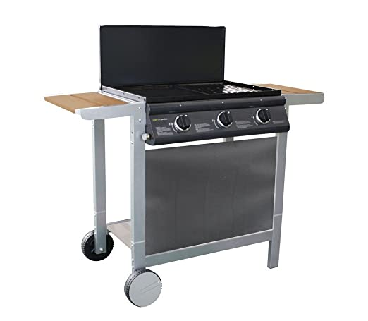 Cookin Garden Puerta Luna Confort 10500 W Parrilla Gas ...