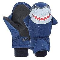 Gloves for Kids,7-Mi Waterproof Windproof Winter Skiing Gloves for Boys Girls