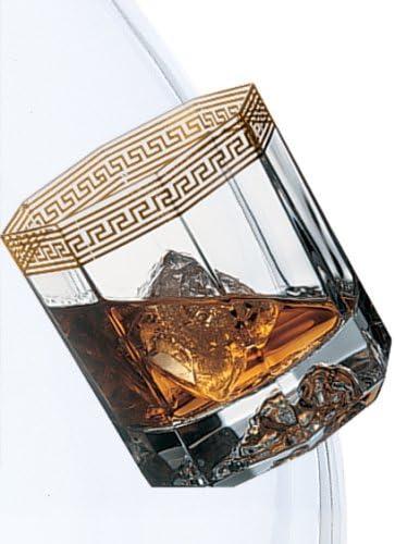 Rosenthal VERSACE MEDUSA D/'0R Crystal WHISKEY Set of 2 NEW in BOX Dor Whisky