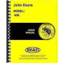 New John Deere 400 Lawn & Garden Tractor Parts Manual (Hydrostatic)