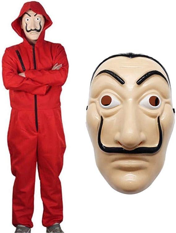 Maske Set Cosplay Karneval Haus des Geldes La Casa de Papel Cosplay Kostüm