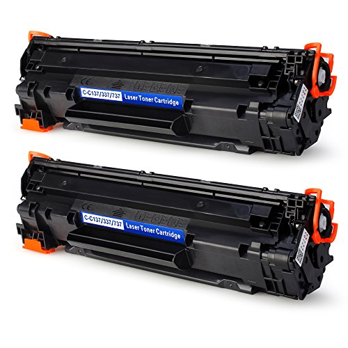 2-BLACK IKONG 137 Toner compatible Replacement works with Canon imageCLASS MF216n, MF227DW, MF229DW, MF247DW, MF236N, LBP151dw, MF249DW, MF244dw, MF217W Printers for cheap