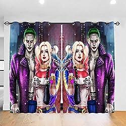 519XDtitT%2BL._AC_UL250_SR250,250_ Harley Quinn  Curtains