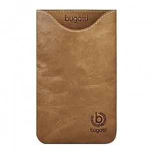 Bugatti Skinny - Funda para Samsung Galaxy Note N7000, marrón
