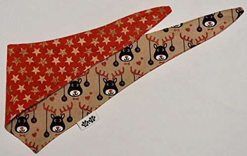 Christmas Reindeer Bandana (Biggy Print)