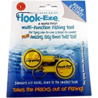 Hook-Eze Fishing Tool - Hook Tying & Safety Device + Line...