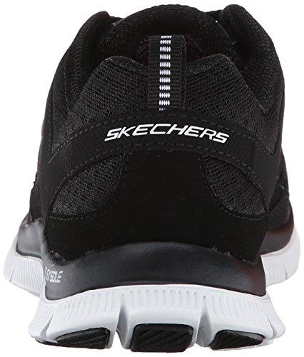 Flex Nero Skechers Adaptable Donna Scarpe Bkw Appeal Sportive Donna Faqga5w0