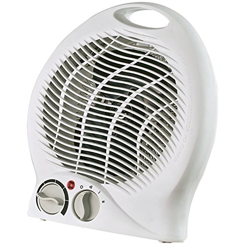 Optimus H-1322 Portable 2-Speed Fan Heater with Thermostat ()
