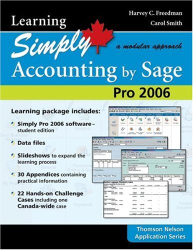 Learning Simply Accounting 2006 : A Modular Approach