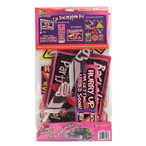 Bachelorette Party Car Decoration Kit - Includes 20 pieces ()
