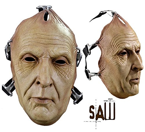 (Trick or Treat Studios Men's Saw-Jigsaw Death Face Mask, Multi, One)