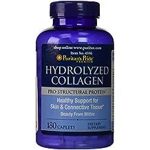 Puritan's Pride Hydrolyzed Collagen 1000 mg-180 Caplets
