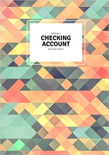 personal checking account balance sheets abstract payment record