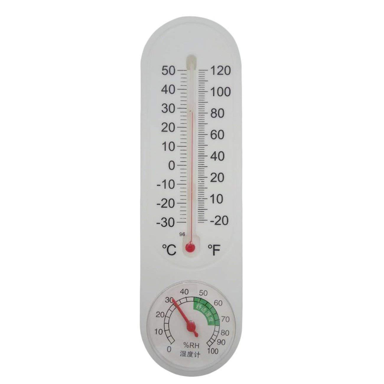 Jiobapiongxin Termometro analogico per Uso Domestico Tester a Muro igrometro Home JBP-X
