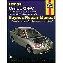 Honda Civic 2001-2004 & CR-V 2002-2004