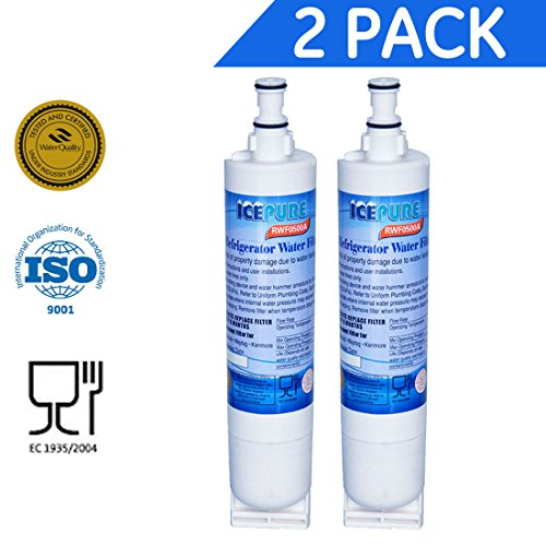 IcePure Premium Refrigerator Replacement Water Filter, compatible with - Whirlpool Part 4396841