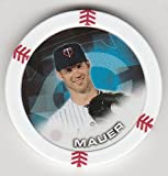 2014 Topps Poker Chipz Joe Mauer Minnesota Twins