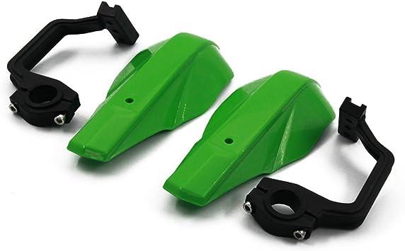 Universal Handguards 22mm and 28mm Hand Guards Brush Bar For Motorcycle Dirt Pit Bike Motocross Kawasaki KX65 KX85 KX125 KX250 KX500 Green