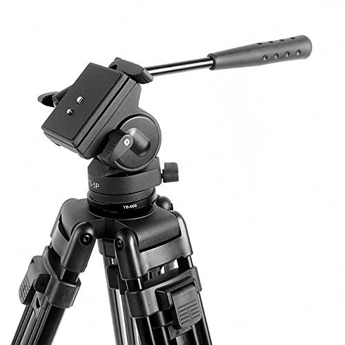 Emperor of Gadgets ® Diat® Camera Drag Head and Tripod Set - Use with DSLR Cameras, Video Camera, Camcorder (Models KS-5P + A193L) by Emperor of Gadgets