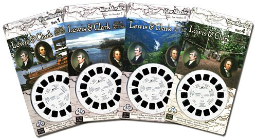 View-Master Scenic 4-Card Sets, Lewis & Clark Trail