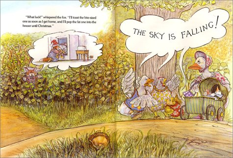 Image result for original chicken little book