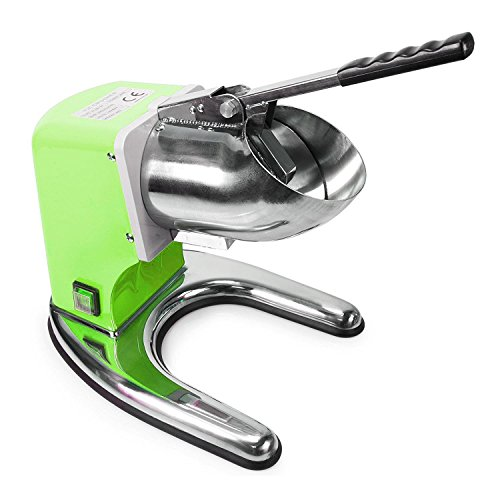 WYZworks Green Commercial Ice Shaver Dual Blade 143lb/h Crusher Shaved Icee Maker Machine by WYZworks (Image #1)