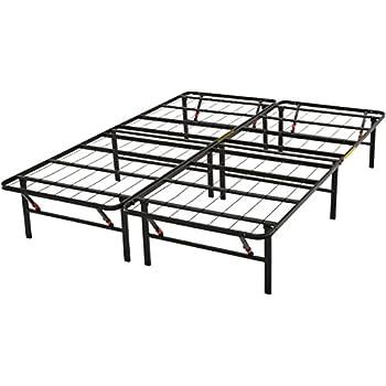 Amazon Com Amazonbasics Platform Bed Frame Foldable