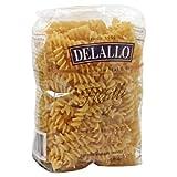 Delallo, Pasta Bag Fusilli, 16 OZ (Pack of 16)