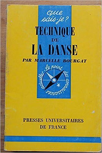 Livres technique de la danse pdf ebook