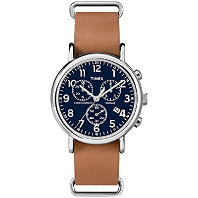 Timex Weekender Chronograph 40mm Case Slip-Thru Strap Watch