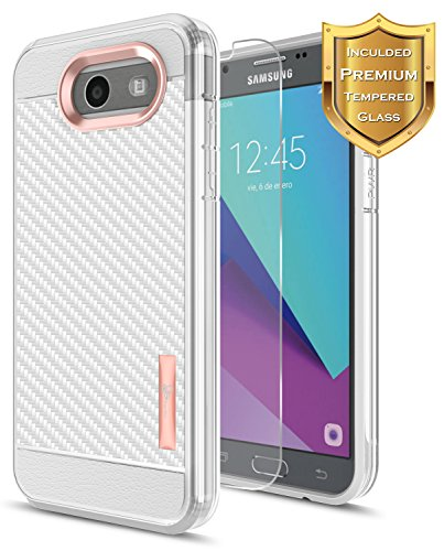 Tempered Glass For Samsung Galaxy J3 Pro (Clear) - 9