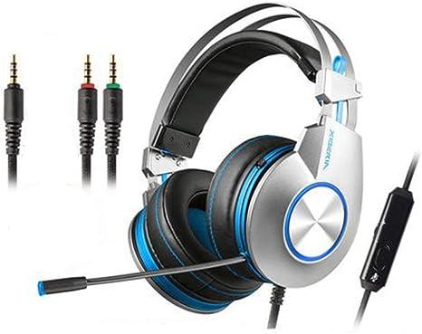 Auriculares Gaming para PS4,Cascos Gaming de Mac Estéreo con ...