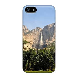 Flexible Tpu Back Case Cover For Iphone 5/5s - High Waterfall