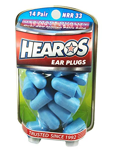 HEAROS Xtreme Ear plugs – Best In Class Noise Cancelling Disposable Foam Earplugs With NRR 33 Hearing Protection, 14…