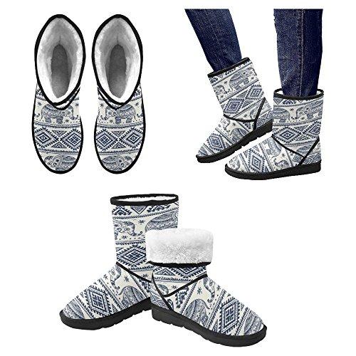 Snow Stivali Da Donna Di Interestprint Stivali Invernali Comfort Dal Design Esclusivo Multi 10