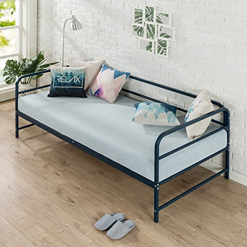 Zinus Nightfall Twin Daybed Frame Steel Slat Support