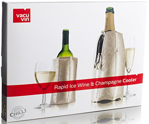 Vacu Vin Rapid Ice Wine and Champagne Cooler Set