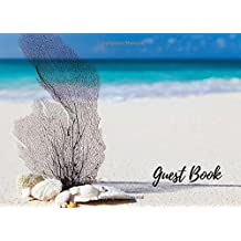 Guest Book: Seashell, Ocean, Vacation Guest Book to Sign In, Airbnb, Guest House, Hotel, Bed and Breakfast, Beach House, Lake House