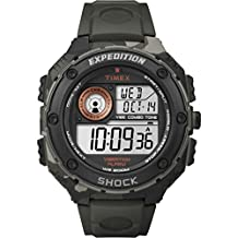 Timex Expedition Vibe Shock Digital watch for men Vibration alarm